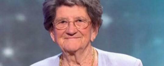 Odette, 89 ans, la poète en demi-finale et finale à l'émission Incroyable talent