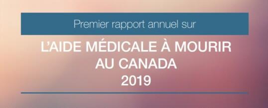 Euthanasie: analyse du 1er rapport annuel de Santé Canada