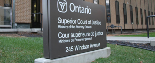 Ontario Superior Court rules on physicians